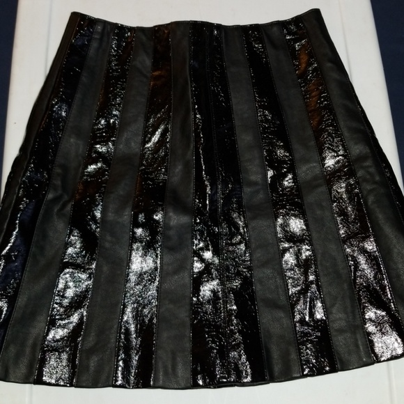 044551cded bebe Skirts | Nwt Faux Patent Leather Mini Skirt Size 4 | Poshmark